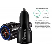 China 10W Dule USB Port 5V 2A Car Charger Adapter For Iphone