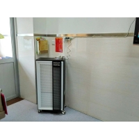 China Max 60DB Strong Light Particles Mobile Air Cleaner For Rapid Sterilization