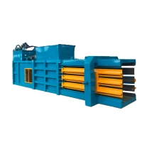 China Hot sell automatic horizontal baler for waste paper / cardboard /PET bottel/
