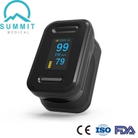 China FDA Approved Blood Oxygen Saturation Monitor With Dual Color OLED Display