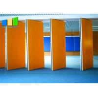 China Nigeria Hotel Movable Partition Wall Acoustic Wooden Hanging Folding Partition