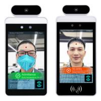 China temperature measurement face recognition network time attendance access control