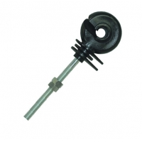 China Black PP Long Thread Ring Insulator for Electric Fencing System