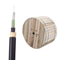 China ADSS All Dielectric Double Jacket 48core ADSS Fiber Optical Cable With 200m 250m