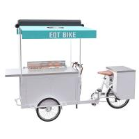 China Europe Style BBQ Food Scooter Rust Prevention For Street Food Vending