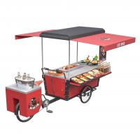 Quality Box Structure Outdoor 350W 48V 20ah BBQ Food Bike for sale