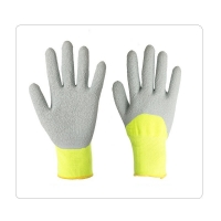 China Summer Fitted 13 Gauge XL Latex Palm Coated Gloves