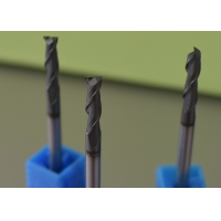 China HRC55 100mm Four Flute End Mill For Stainless Steel