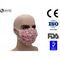 China Non Woven Cute Disposable Medical Mask With Funny Faces Printed 3 Ply