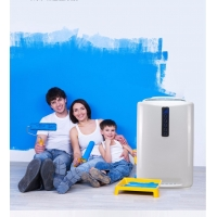 China 220V 30dB Air Purifier With HEPA Filter And UV Light For Room