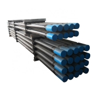 Quality T51 Threaded 3660mm MM Drill Extension Rod Round Pipe For Rock Drilling Machine for sale