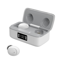 China Mini Led Power Display 70mm Sweatproof Bluetooth Earbuds