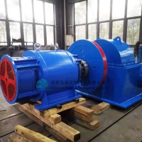 Quality 40KW Mini Water Wheel Generator Electric Hydrogenerator Water Turbine For Plants for sale