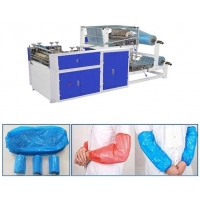China High Quality Fully Automatic PE Plastic Sleeves Making Machine