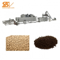 China 250-300kg/h Fish Feed Production Equipment Floating Fish Feed Production Line