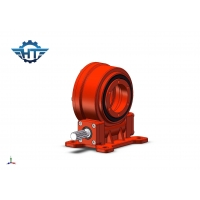 China VE7 Worm Drive Gearbox, Planetary Drive Gearbox For Horizontal Single Axis Solar