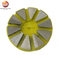 China ISO9001 Round Shape Fast Assembling Diamond Grinding Shoes