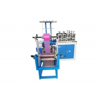China Double Layers Disposable Plastic Shoe Cover Making Machine