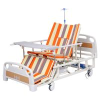 China Good price ABS nursing bed hospital bed with toilet for patient and home nursing