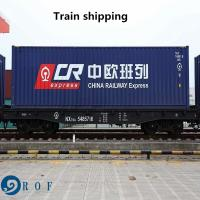 China Door To Door DDP Rail Freight From China To Germany