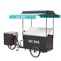 China Large Storage Custom Cargo Bike , CE Approval Electric Tricycle For Cargo