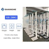 China Body Balance Medical Height And Weight Scales , Healthy Digital Scale With Bmi