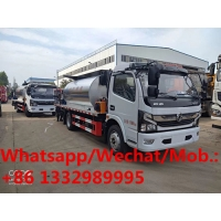 China Customized dongfeng Euro 6 6cbm asphalt tanker truck for sale, Hot sale! Best