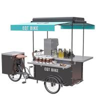 China Street Mobile Drink Bike Environment Friendly Convenient Transporting