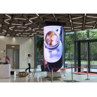 China Ultra Thin Super Light HD P4 Flexible Soft LED Display Video Wall Screens For