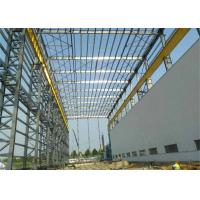 China High Quality Prefabricated Heavy Lattices Steel Structure Workshop with Crane