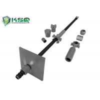 China Full Threaded Steel Self Drilling Rock Bolts Hollow Anchor Bar