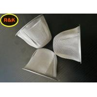 China Multilayers Wire Mesh Cap , Metal Mesh Screen Filter For Fuel Refueling