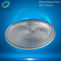 China 175mm glass fresnel lens for LED,Projector,imager