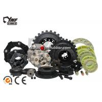 Quality Flexible Rubber Hydraulic Pump Engine Drive Couplings for CASE Excavators for sale