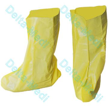 China Disposable Polypropylene Non Woven Boot Shoe Cover Full Coverage