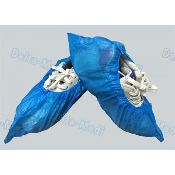 China Personal Care Breathable Disposable Surgical Shoe Covers CPE / PE Material