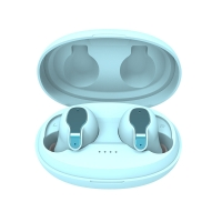 China 3D Stereo 400mAh 46mm Sweatproof Wireless Bluetooth Earbuds