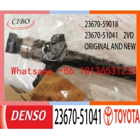 China 23670-59018 23670-51041 TOYOTA Fuel Injectors Replacement