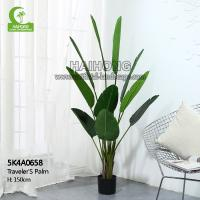 China Artificial Traveler's Palm Decorative Best Office Plants