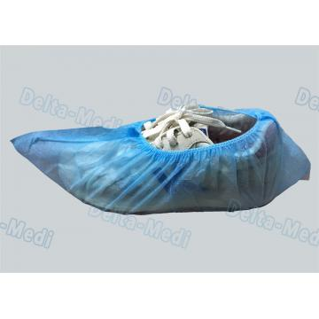 China Clinic Disposable Surgical Shoe Covers , Hygienic Shoe Covers Universal Size