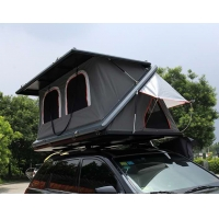 China Half Automatic Z Shaped Hard Shell Roof Top Tent