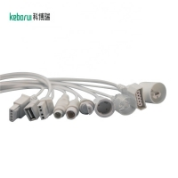 China IBP adapter cable compatible for Mennen monitor to Smiths transducer