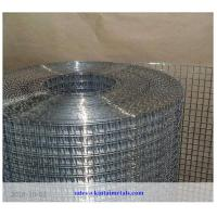 """China 1/2"""" galvanized square wire mesh after welding for construction"""