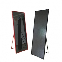 Quality High Refresh P2.5 Indoor Mirror LED Poster Advertising Player Display for sale