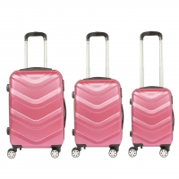 China 4 Spinner Wheels 20 inch ABS Hardside Luggage Sets