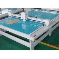 China Cabinet Proof Flatbed Cutting Machine , Sample Making Computerized Cutting
