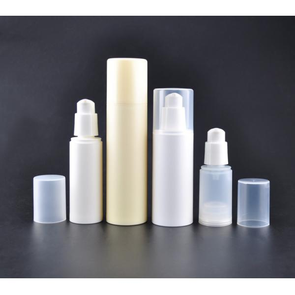 China Sustainable 30ml 60ml 80m PCR PP Airless Cosmetic Bottle